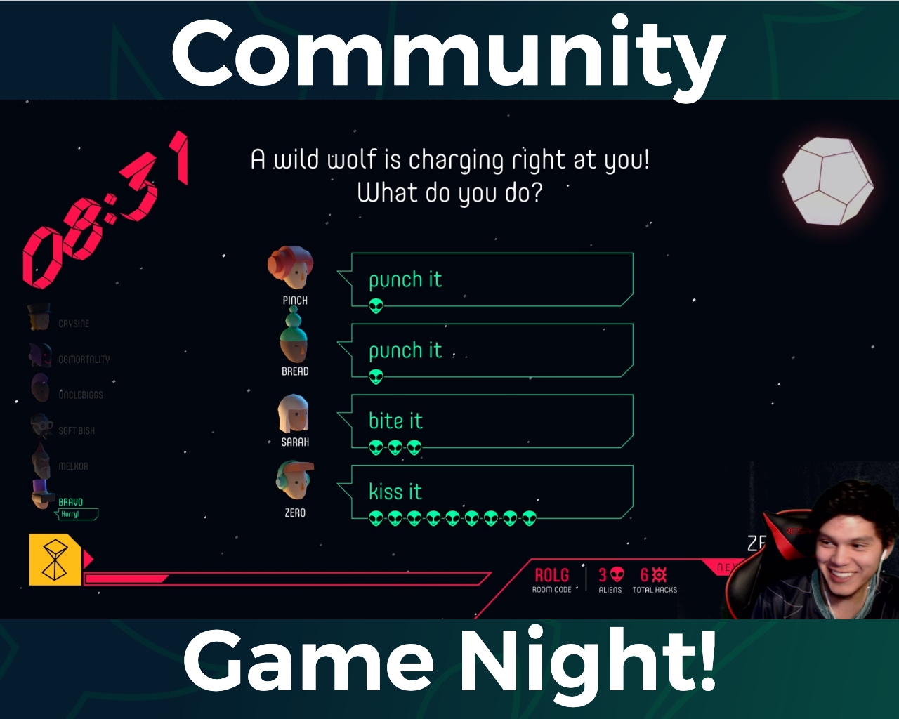 March Community Game Night
